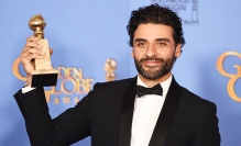 Mandatory Credit: Photo by Buckner/Variety/REX/Shutterstock (5528315ae) Oscar Isaac 73rd Annual Golden Globe Awards, Press Room, Los Angeles, America - 10 Jan 2016